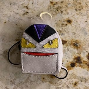 Monster back pack keychain